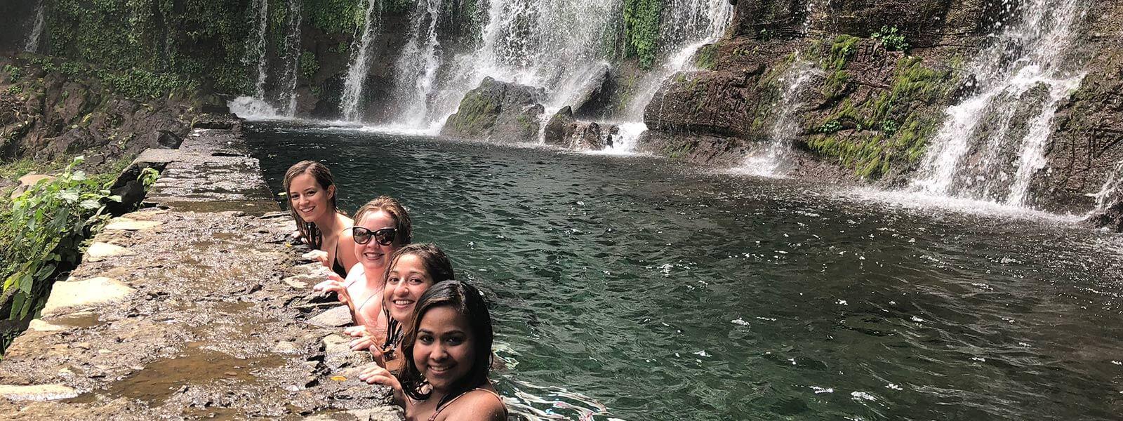 one day tours el salvador chorros de la calera juayua waterfalls, ruta de las flores el salvador