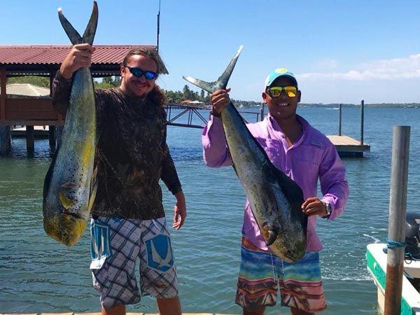 fishing tour el salvador, deep trolling