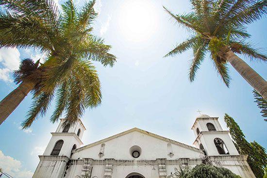 ruta de las flores, Nahuizalco town, sonsonate el salvador church
