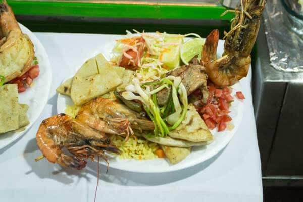 ruta de las flores, food festival in juayua saturday and sundays