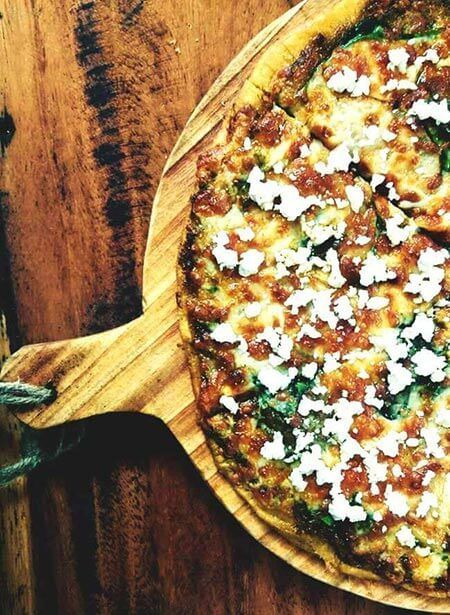 vegetarian restaurants in el tunco beach el salvador, food
